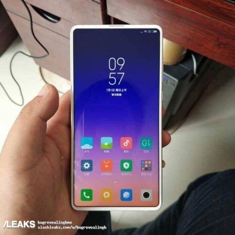 Leaked Xiaomi Mi MiX 3 Smiles For The Camera 1