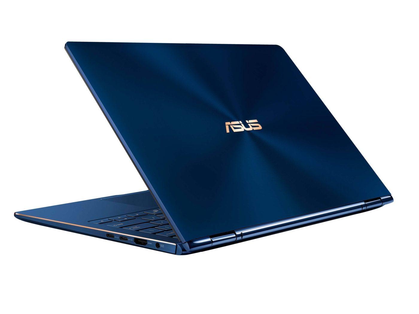 Asus Introduces The Zenbook Flip 13/15 - Sports Core i7-8565U, 16GB RAM & GTX 1050 4