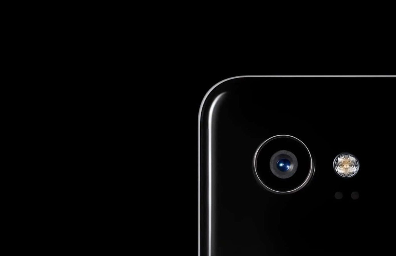 Google Pixel 2 XL in Black With A Camera View