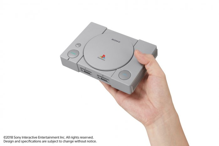 Sony Announces The PlayStation Classic - A Mini PS1 Pre-loaded With 20 Games & 45% Smaller Body 5
