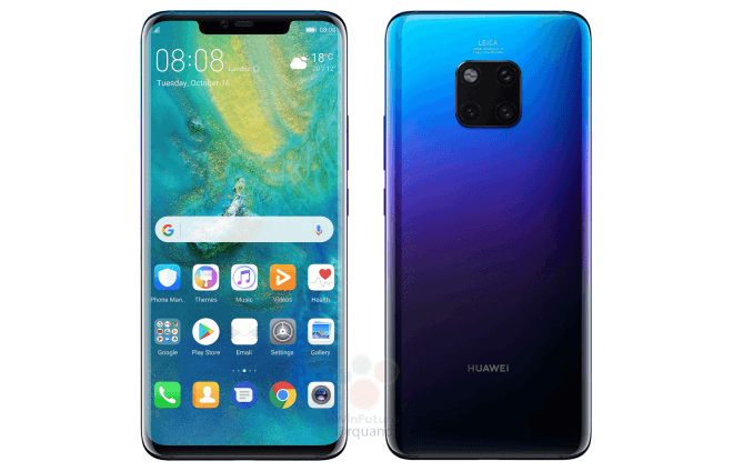Pre-Mature Unboxing Of The Huawei Mate 20 Pro Leaked - The Renders Were On Point 3