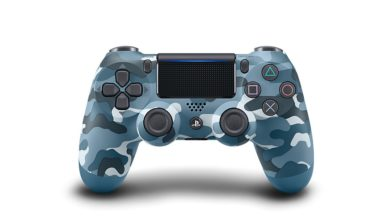 Sony Announces Their New Blue Camouflage DualShock 4 PS4 Controller 24