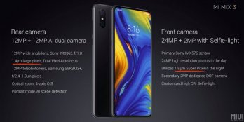 The Highs Of The Mi MiX 3 Are Here - Features 94.3% Screen-To-Body, 4x Total Cameras and More 6