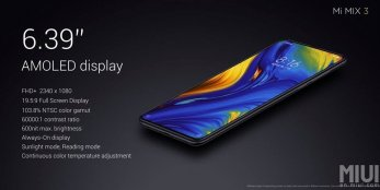 The Highs Of The Mi MiX 3 Are Here - Features 94.3% Screen-To-Body, 4x Total Cameras and More 5