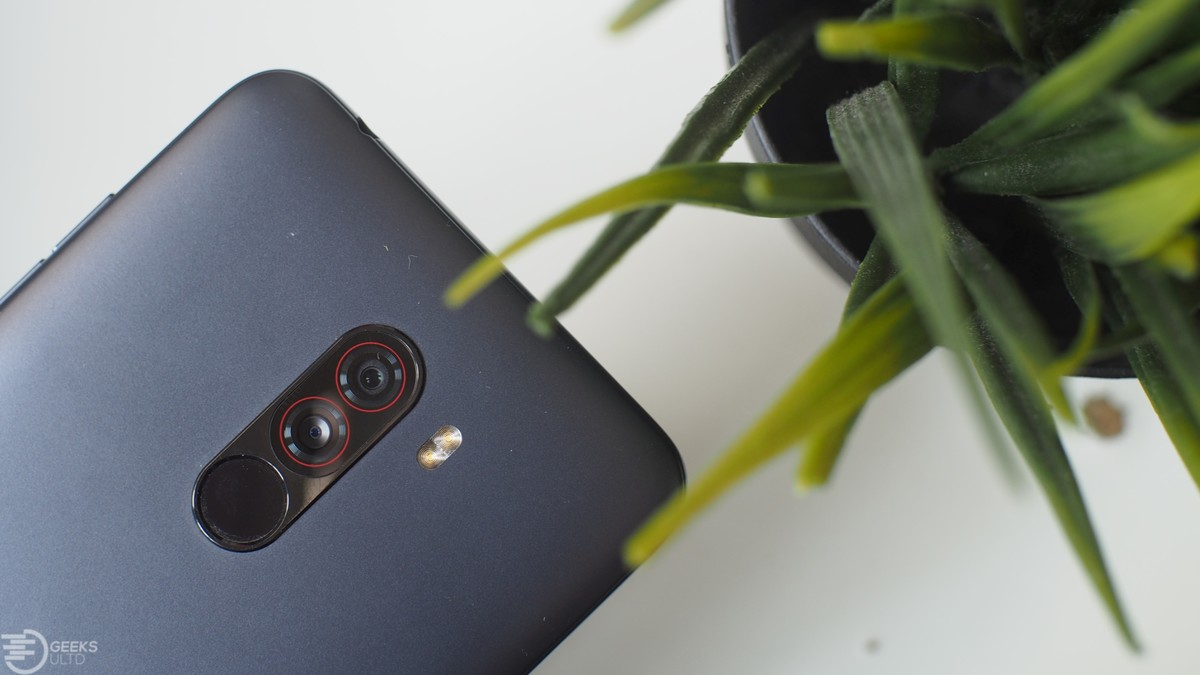 Xiaomi's Poco F1 Gets Huge Camera Bumps With The Google