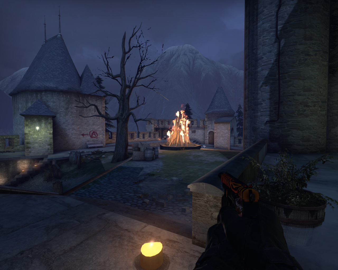 CS:GO Receives A Halloween Makeover - Cobblestone Dressed For The Occasion 1