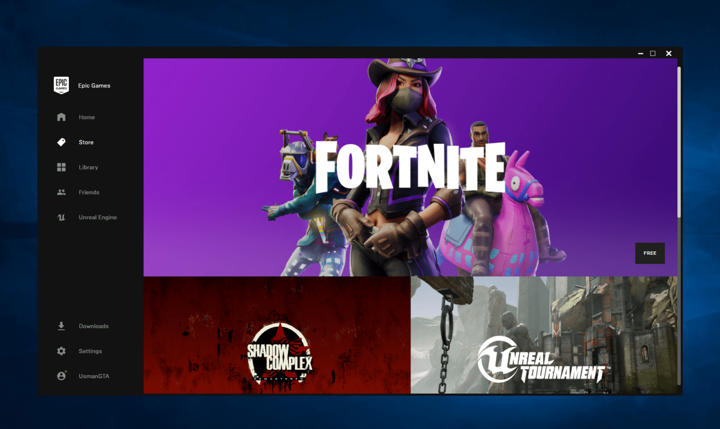 new epic games launcher takes over the new beta 1 - fortnite beta epic games