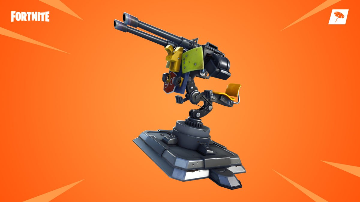 Fortnite's New Mounted Turret Gets A Nerf To Its Drop Rates 1