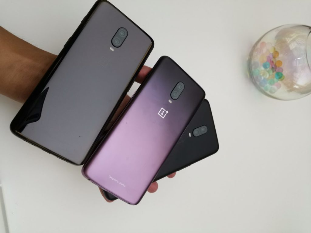 OnePlus 6T In Thunder Purple Makes Its Way In A Leaked Picture 2