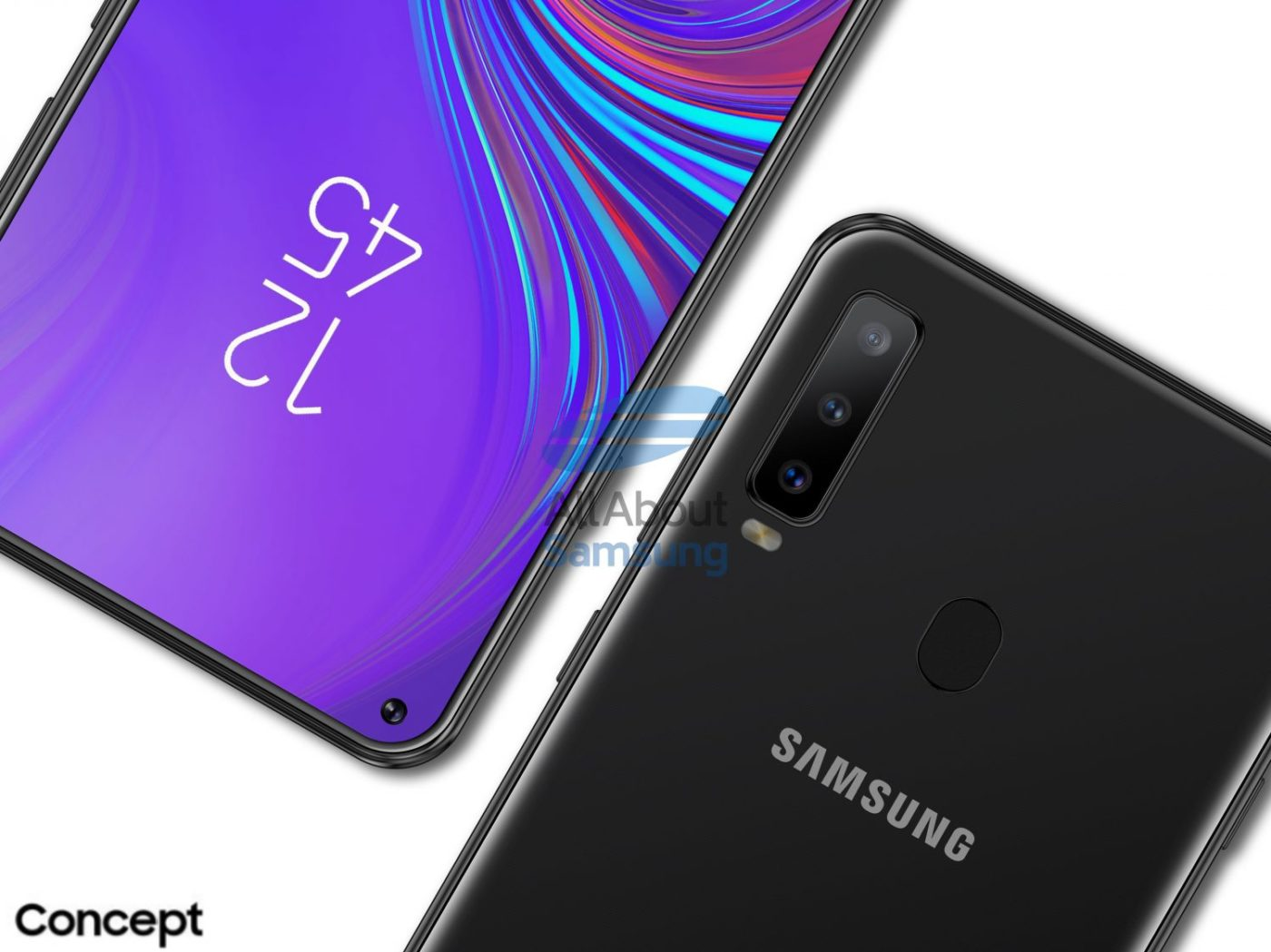 Galaxy A8s Will Be Samsung's First Infinity-O Device, Leaks Suggest 1