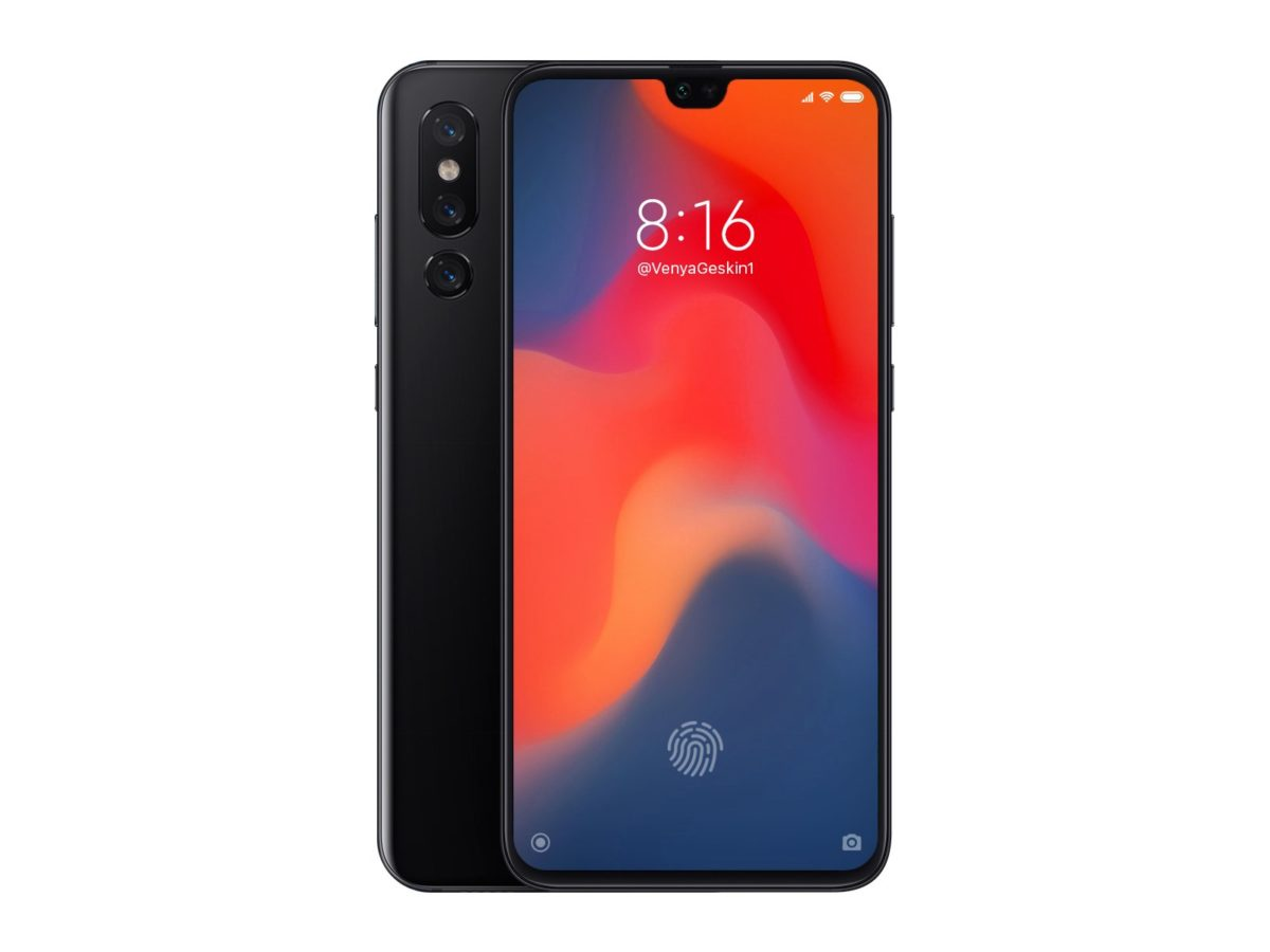 First Concepts Of Xiaomi's Mi 9 With Triple Cameras Have Begun Emerging 3