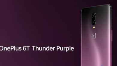 OnePlus 6T Thunder Purple Edition - Gorgeous Press Renders Leaked