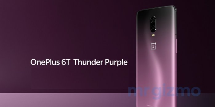 OnePlus 6T Thunder Purple Edition - Gorgeous Press Renders Leaked 4