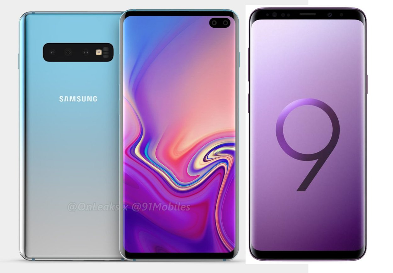 Latest Renders For The S10+ Show Dual Front Facing Cameras & Thicker Side Bezels 1