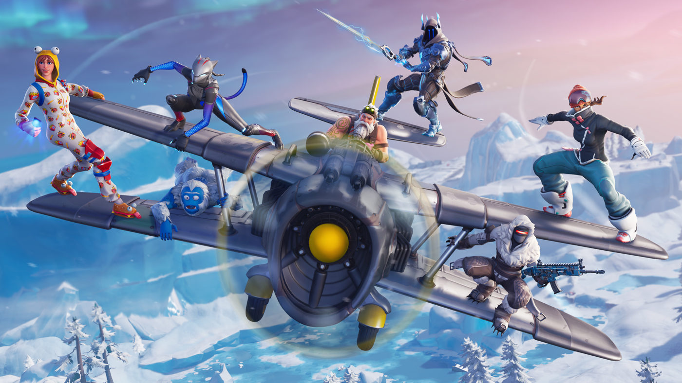 Fortnite Season 7 Is Finally Here Introduces Planes Skins And Snow