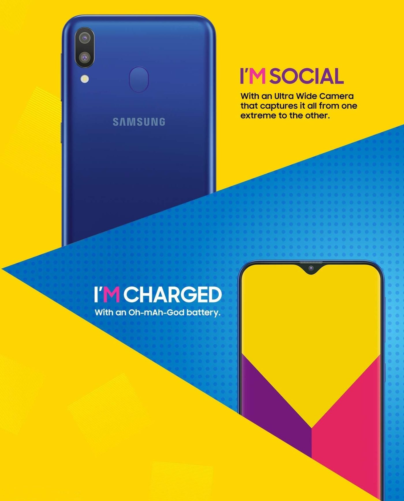 Samsung Galaxy M20 Leaked - Hosts A Massive 5000 mAh Battery, A Teardrop Notch & More 3