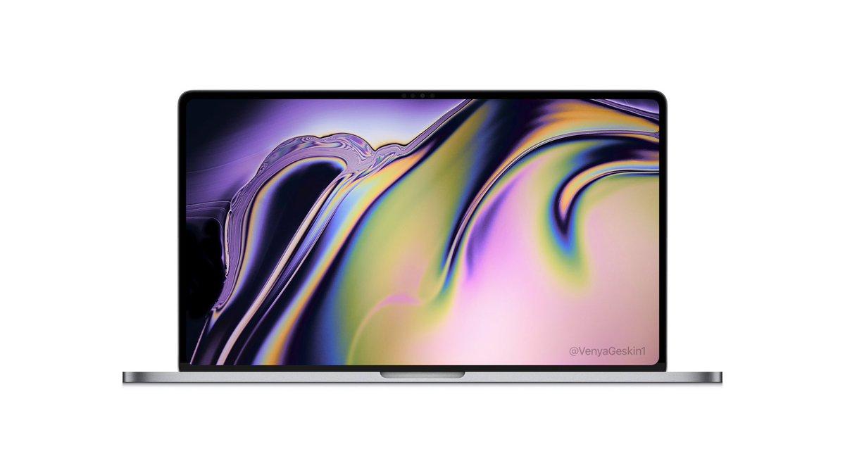 2019 MacBook Pro Render Tip Apple's Move To Bring FaceID 3