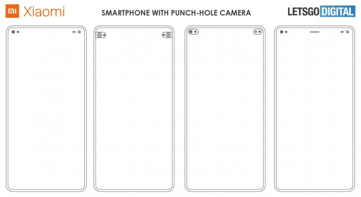 Xiaomi's Dual Punch Hole Camera Smartphone Patent Explained 4