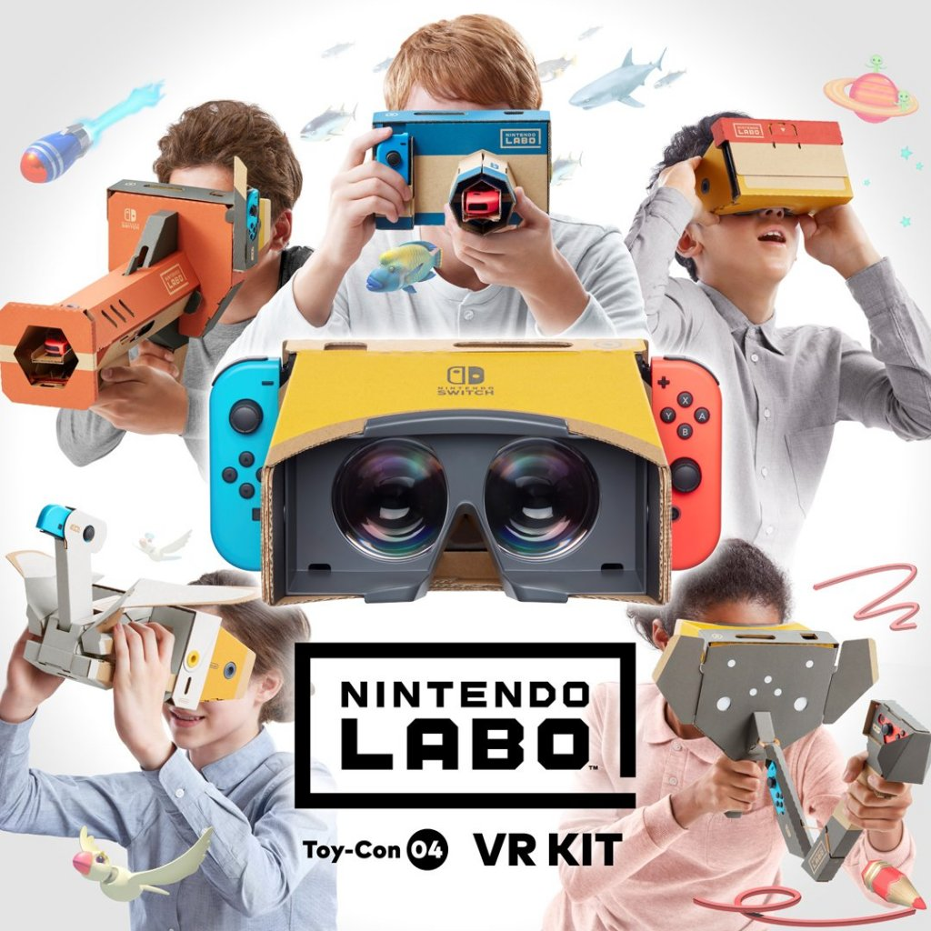Nintendo Labo receives an all-new exciting VR Kit, Virtual Reality for the Nintendo Switch 4