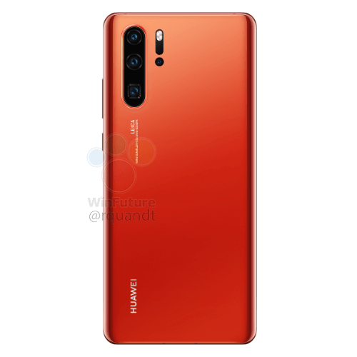 Huawei's P30 Pro 10X Zoom Lens & A New Gradient Color Leaked 3