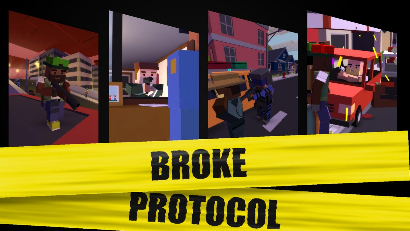 Random RPG, Broke Protocol Is Blowing Up On Steam In Less than 24 hours, More Than 100K Active Players 5