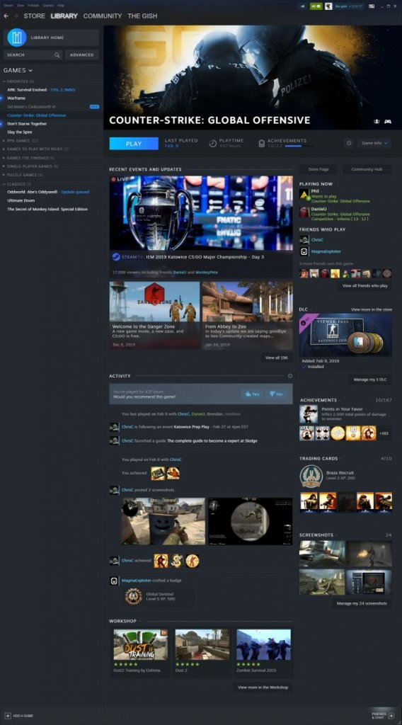 Steam To Get A Redesigned Library Page - First Look From GDC Keynote 6