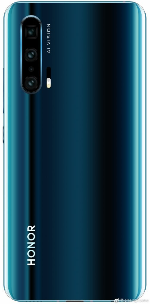 Huawei Honor 20 Pro Concept Renders Emerge - Seems Like A Copy Of The P30 Pro 4
