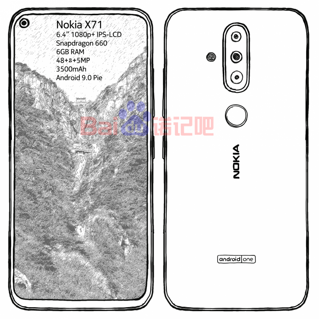 Nokia 7 New Leaks Emerge - Yet Another Punch Hole Device? 3