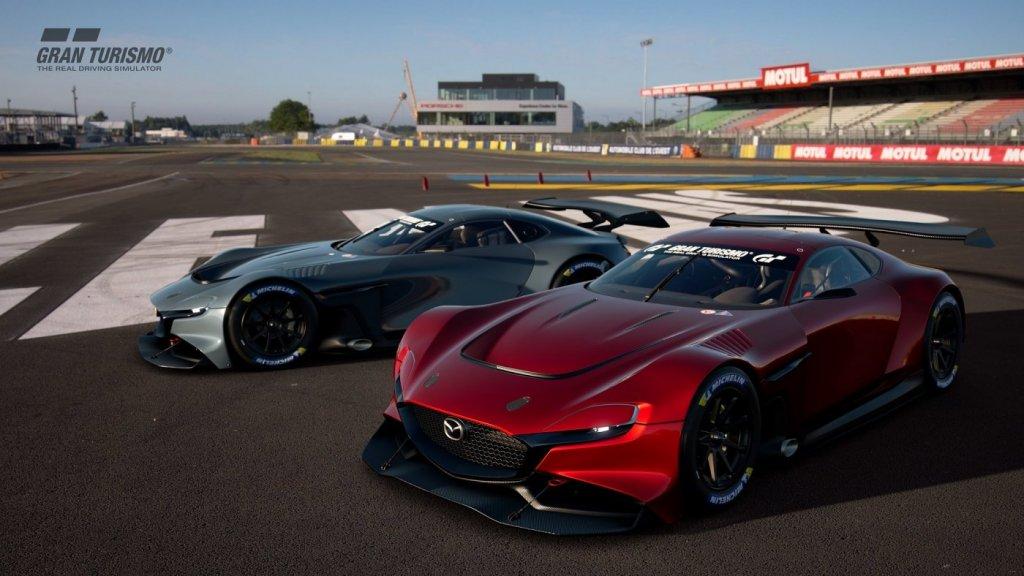 Gran Turismo Sport Commemorates Mazda's 100-Year Anniversary, Features RX-Vision GT3 Concept 4