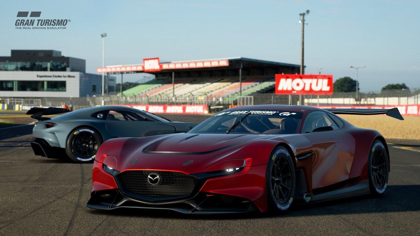 Gran Turismo Sport Commemorates Mazda's 100-Year Anniversary, Features RX-Vision GT3 Concept 3