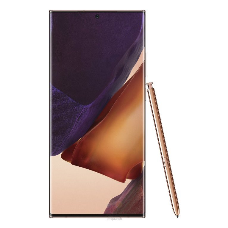 Samsung Galaxy Note 20 Ultra Official Renders Leaked - Here's Your Final Look Before It Goes Official 18