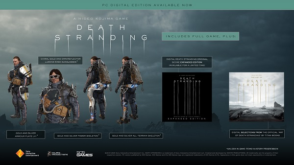 Death Stranding Officially Launches On Steam - Hideo Kojima Hosts Celebratory Live Interview 1