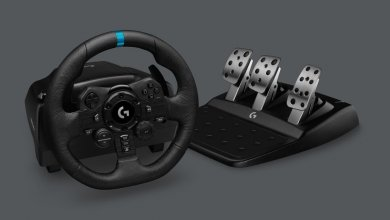 Logitech G923 Racing Wheel - The all-new realistic sim-racing experience with TRUEFORCE 3