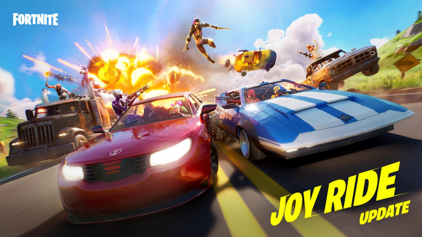 Fortnite Joy Ride Update Introduces Drivable Cars - Four New Cars Introduced 9